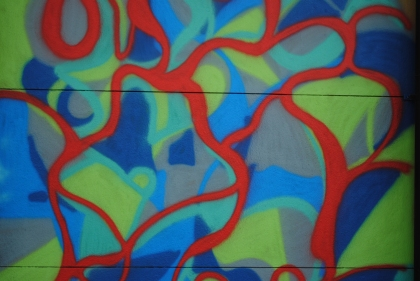 Pintura callejera (foto: jmg)